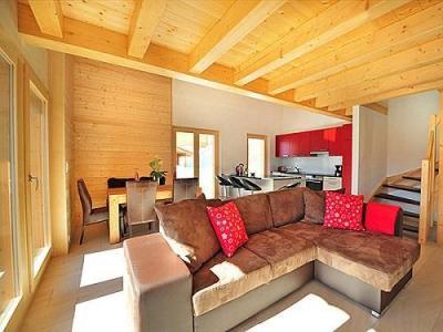 Location au ski Chalet Ourson Blanc - Thyon - Séjour