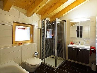 Location au ski Chalet Ourson Blanc - Thyon - Salle de bains
