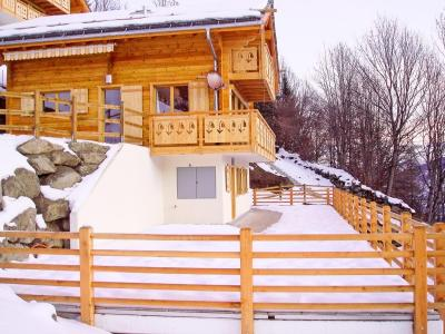 Location Thyon : Chalet Panorama hiver