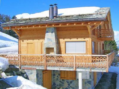 Location au ski Chalet Perle des Collons - Thyon - Extérieur hiver