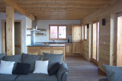 Location au ski Chalet 6 pièces 12 personnes - Chalet Perle Des Collons - Thyon - Séjour