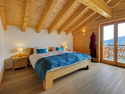 Location au ski Chalet Perle des Collons - Thyon - Chambre mansardée