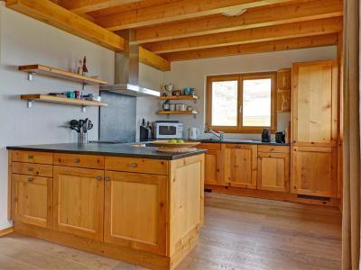 Location au ski Chalet Perle des Collons - Thyon - Cuisine ouverte