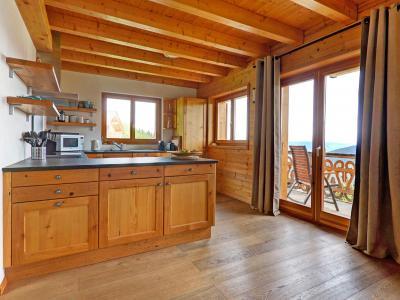 Аренда на лыжном курорте Chalet Perle des Collons - Thyon - Кухня