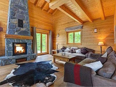 Location au ski Chalet Perle Des Collons - Thyon - Cheminée