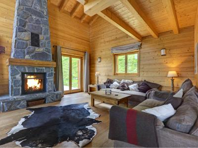 Аренда на лыжном курорте Chalet Perle des Collons - Thyon - Диван