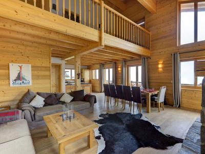 Location au ski Chalet Perle des Collons - Thyon - Table basse