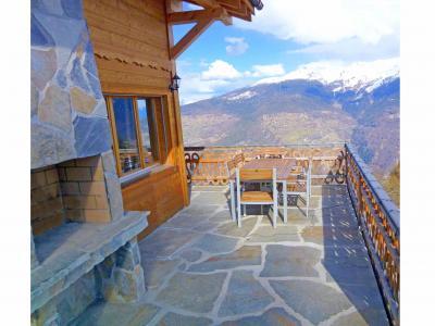 Location au ski Chalet Perle des Collons - Thyon - Terrasse