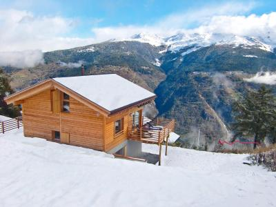 Vacances en montagne Chalet Sur Piste - Thyon - Extérieur hiver