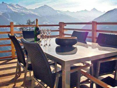 Rent in ski resort Chalet Sur Piste - Thyon - Winter outside