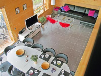 Rent in ski resort Chalet Sur Piste - Thyon - Dining area