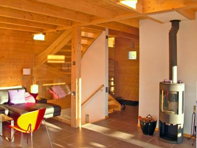 Rent in ski resort Chalet Sur Piste - Thyon - Stove