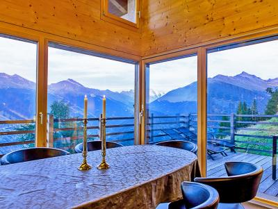 Location au ski Chalet Sur Piste - Thyon - Table