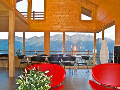 Location au ski Chalet Sur Piste - Thyon - Table