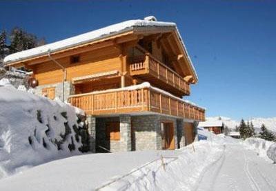 Location au ski Chalet 7 pièces 10 personnes - Chalet Teychenne - Thyon - Extérieur hiver