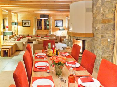 Location au ski Chalet Teychenne - Thyon - Salle à manger