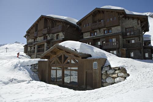 Location au ski Hotel Les Suites Du Montana - Tignes - Extérieur hiver