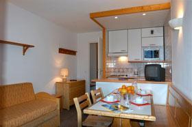 Location au ski Studio cabine 4 personnes - Residence Le Hameau Du Borsat - Tignes - Kitchenette