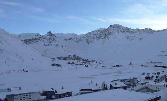 Location au ski Studio coin montagne 4 personnes (28) - Residence Les Cimes - Tignes - Extérieur hiver