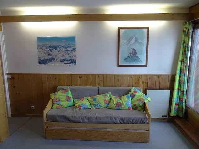 Location au ski Studio coin montagne 4 personnes (28) - Residence Les Cimes - Tignes - Canapé