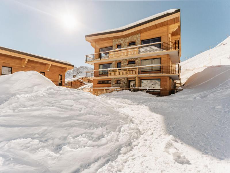 Каникулы в горах Апартаменты 2 комнат 6 чел. (1) - Altitude 2100 - Tignes - зимой под открытым небом