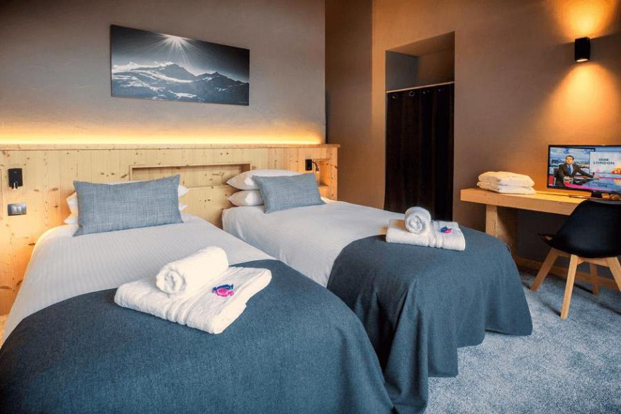 Rent in ski resort Chalet Alpinium 1 - Tignes - Bedroom