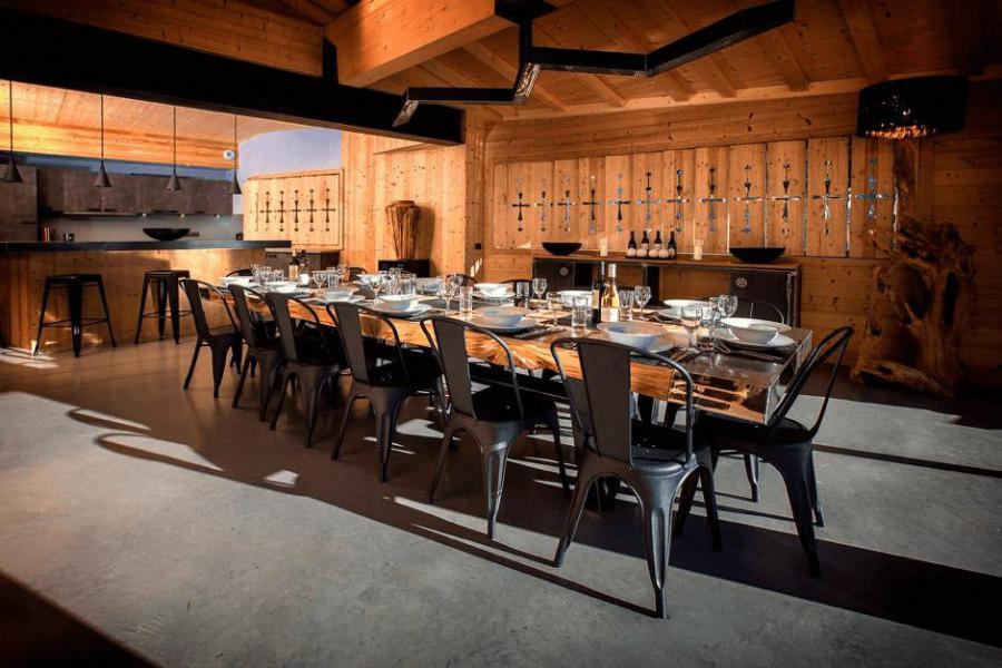 Rent in ski resort Chalet Alpinium 1 - Tignes - Living room