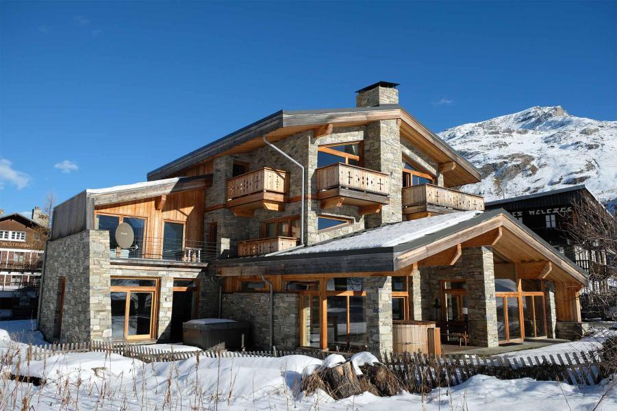 Vacances en montagne Chalet Alpinium 2 - Tignes - Extérieur hiver