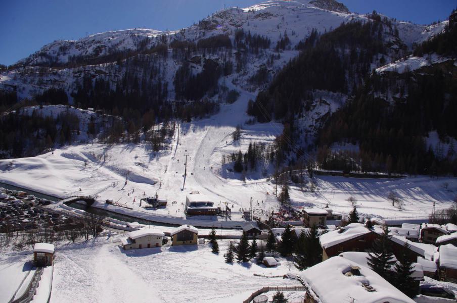 Vacances en montagne Chalet Aspen - Tignes - Extérieur hiver