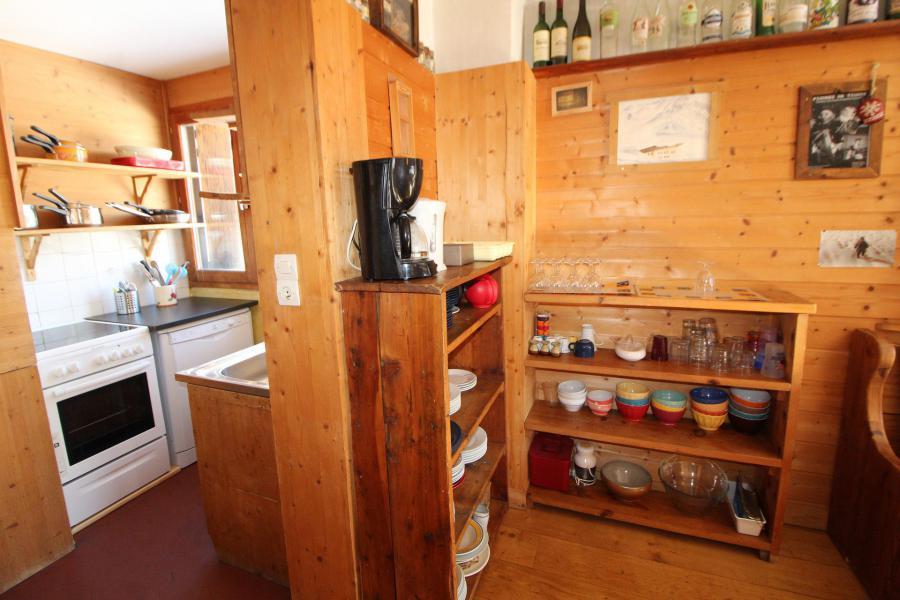 Skiverleih 3-Zimmer-Appartment für 6 Personen (3CH) - Chalet Bobech - Tignes - Kochnische