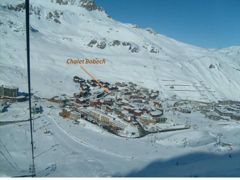 Skiverleih Chalet Bobech - Tignes - Draußen im Winter