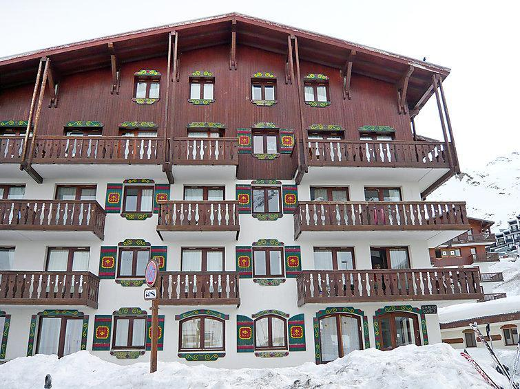 Holiday in mountain resort 1 room apartment 4 people (7) - Chalet Club - Tignes - Winter outside