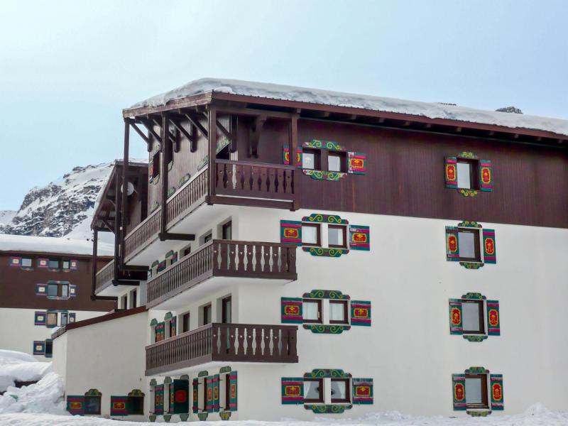 Holiday in mountain resort 1 room apartment 4 people (2) - Chalet Club - Tignes - Winter outside
