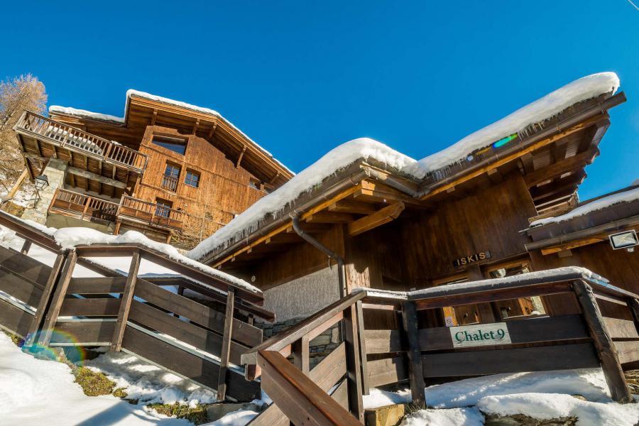 Wakacje w górach Chalet Crystal Ridge - Tignes - Zima na zewnątrz