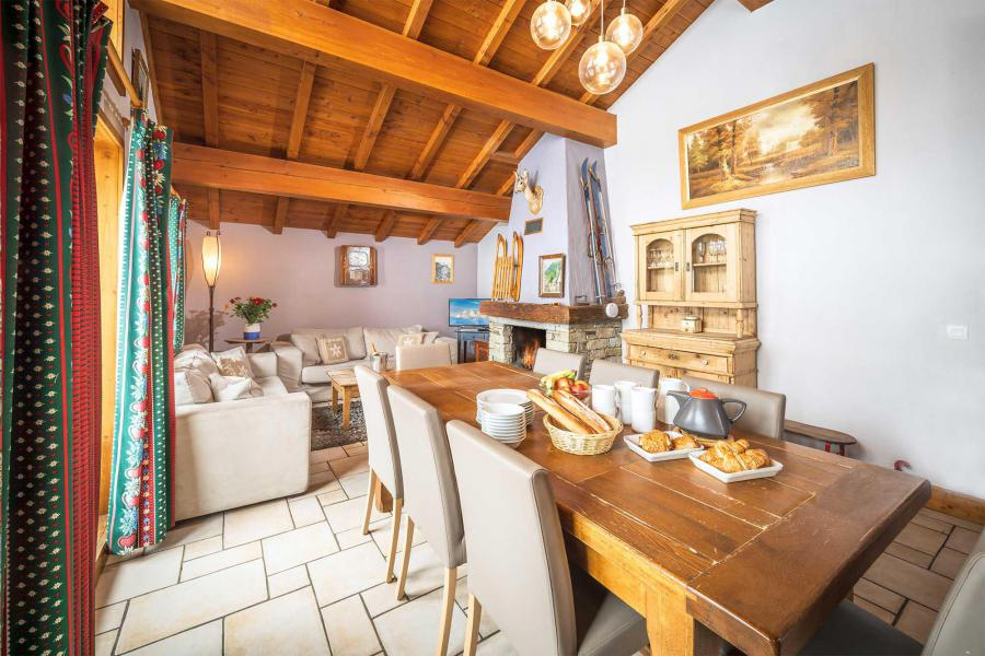 Location au ski Chalet Isabelle - Tignes - Coin repas
