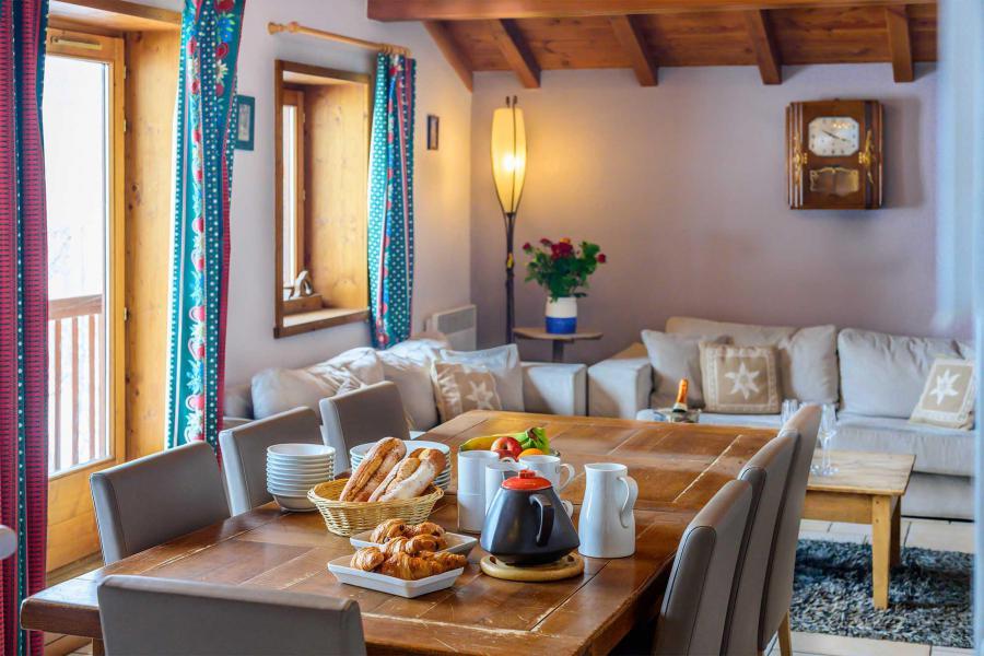 Location au ski Chalet Isabelle - Tignes - Table
