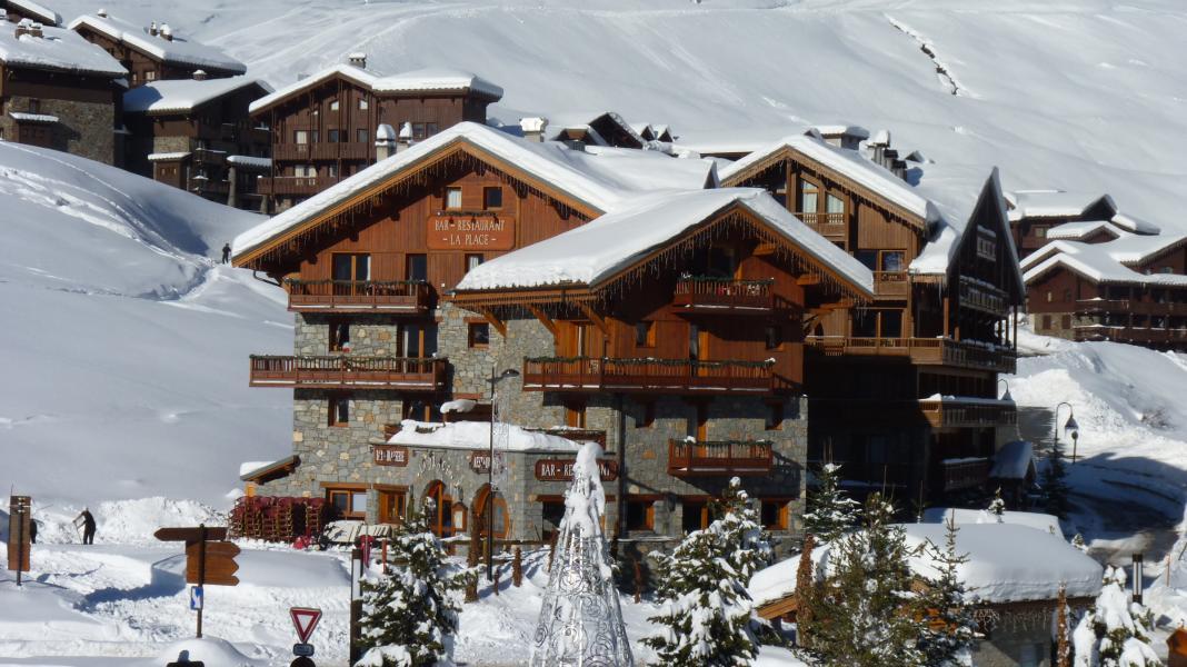 Location au ski Chalet le Planton - Tignes - Extérieur hiver
