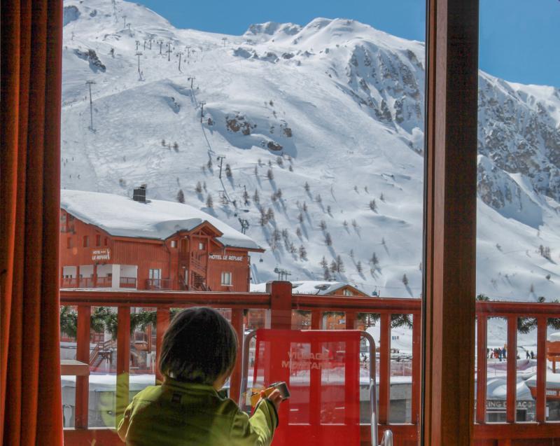 Location au ski Chalet le Planton - Tignes - Véranda
