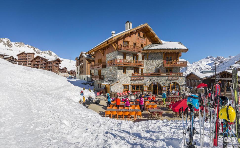 Vacances en montagne Chalet le Planton - Tignes - Extérieur hiver
