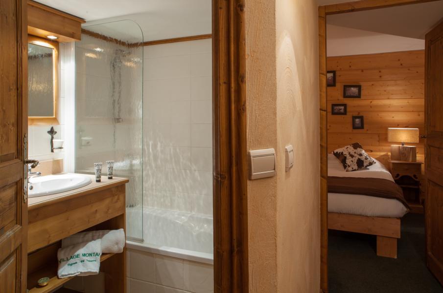 Skiverleih Chalet le Planton - Tignes - Badezimmer