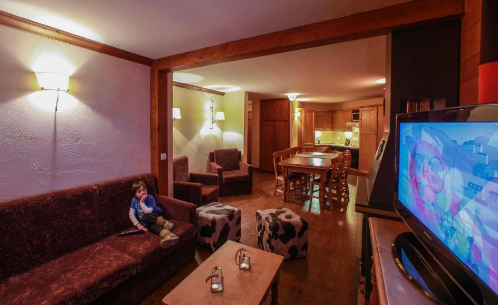 Аренда на лыжном курорте Chalet le Planton - Tignes - Салон