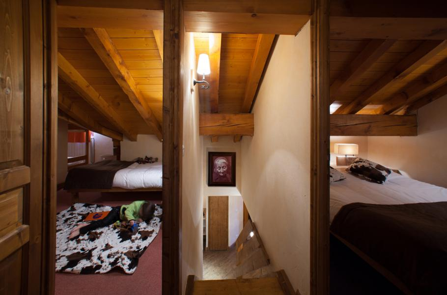 Skiverleih Chalet le Planton - Tignes - Schlafzimmer