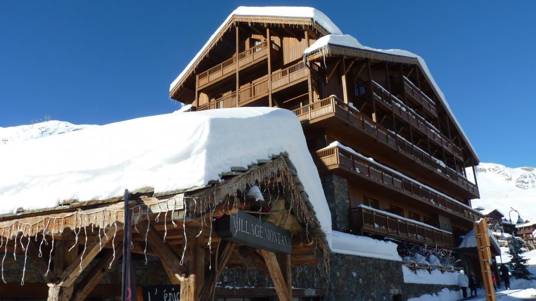 Аренда на лыжном курорте Chalet les Airelles - Tignes - зимой под открытым небом