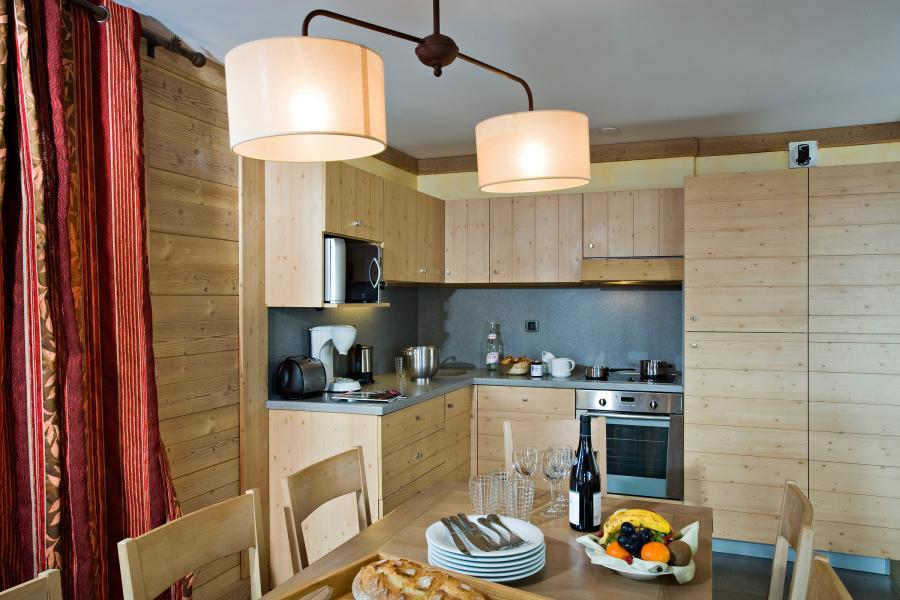 Skiverleih Chalet les Airelles - Tignes - Küche