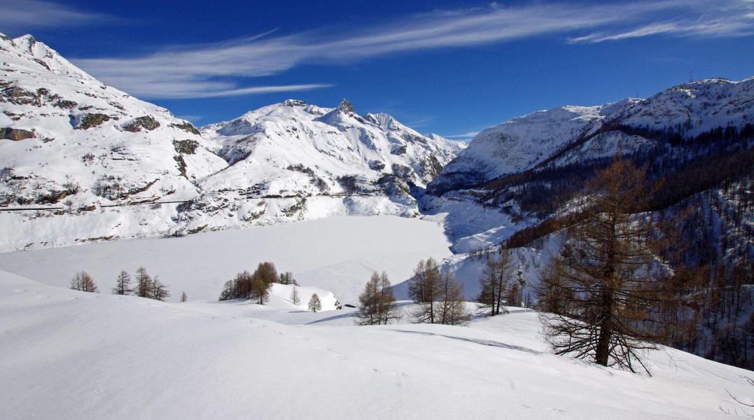 Location au ski Chalet les Racines - Tignes - Extérieur hiver