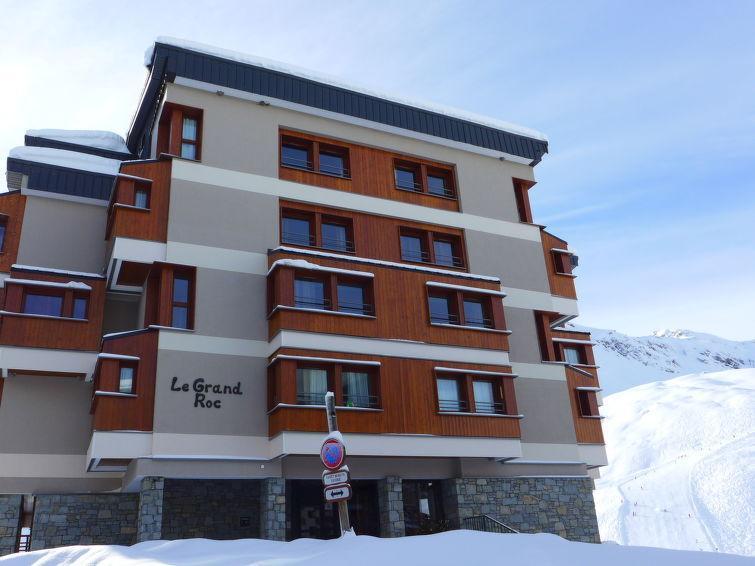 Vacaciones en montaña Apartamento 3 piezas para 6 personas (1) - Grand Roc - Tignes - Invierno