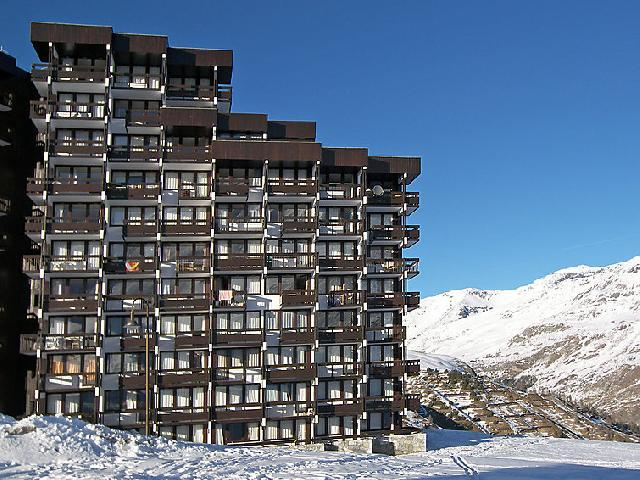 Holiday in mountain resort Studio sleeping corner 4 people (1) - Home Club - Tignes - Winter outside