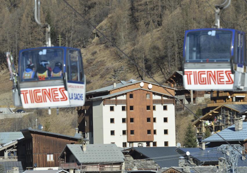 Soggiorno sugli sci Hôtel Club MMV les Brévières - Tignes - Esteriore inverno