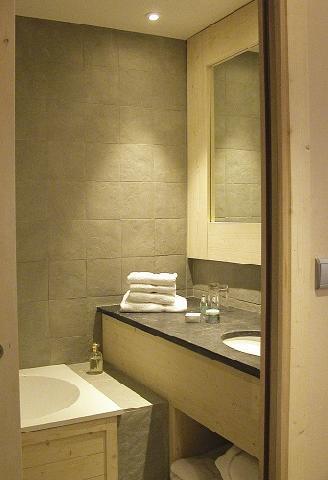 Location au ski Hotel Le Ski D'or - Tignes - Salle d'eau