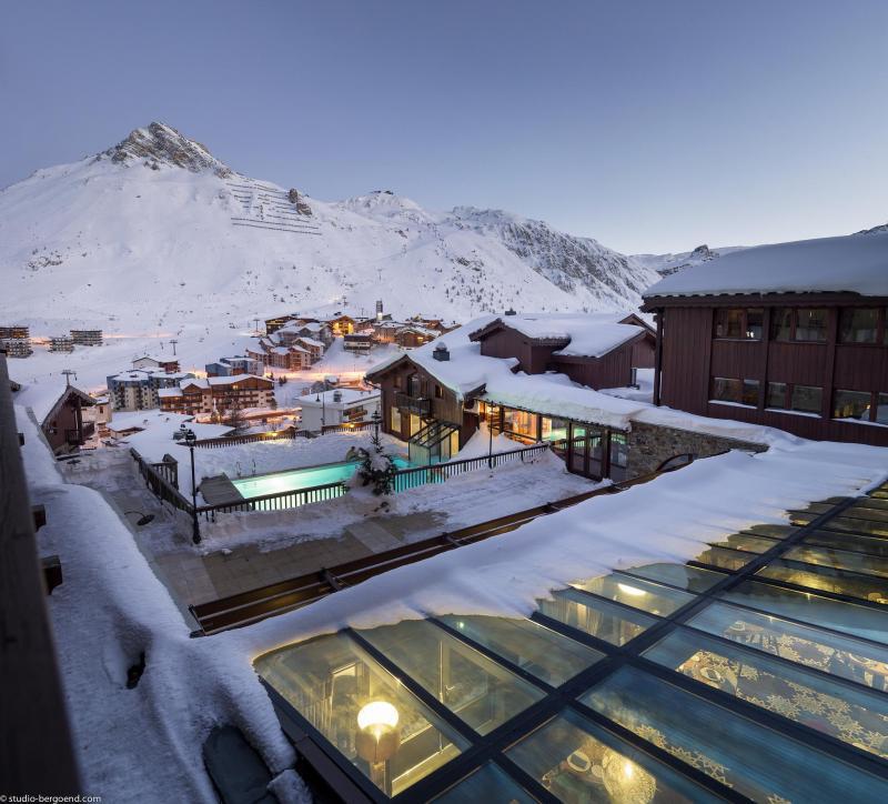 Urlaub in den Bergen Hôtel Village Montana - Tignes - Draußen im Winter